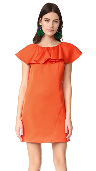 Zac Posen ZAC Zac Posen Dottie Dress - Flame
