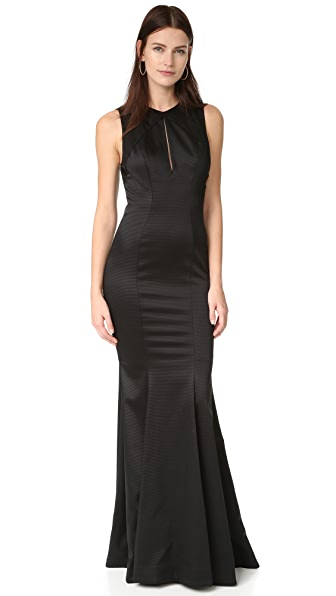 Zac Posen ZAC Zac Posen Rosalie Gown In Black