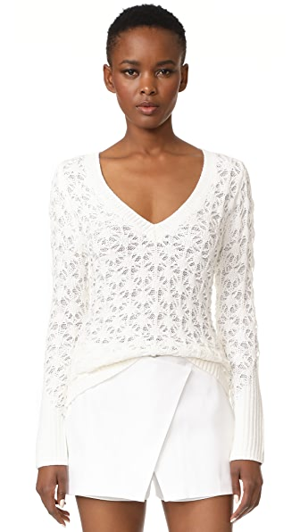 Zac Posen Long Sleeve Sweater
