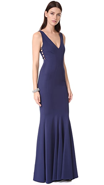 Zac Posen ZAC Zac Posen Tinsley Gown at Shopbop