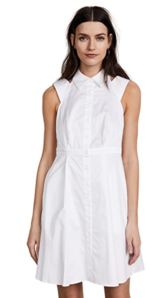 Zac Posen ZAC Zac Posen Isobel Dress In White