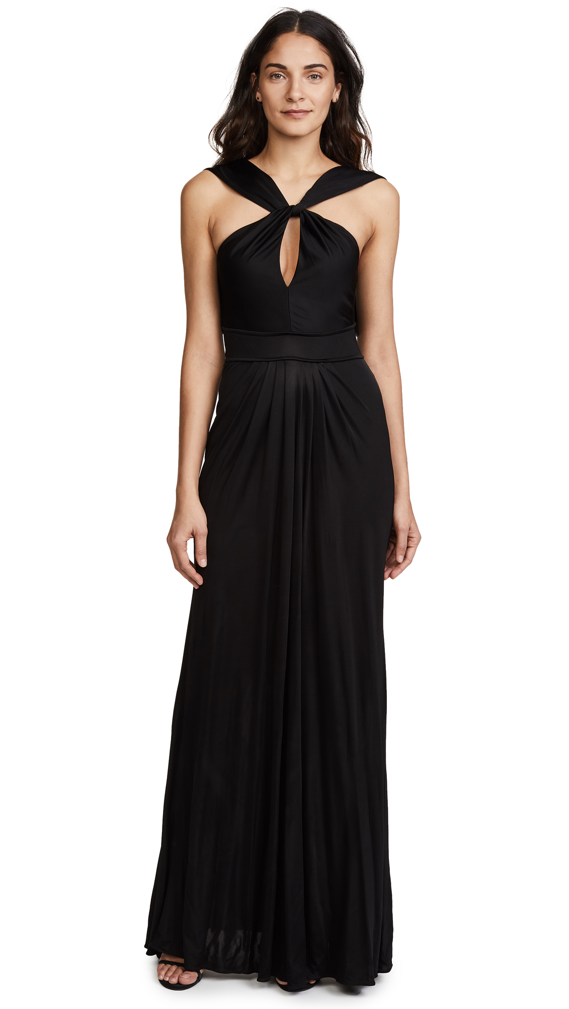 Zac Posen ZAC Zac Posen Wendy Gown In Black