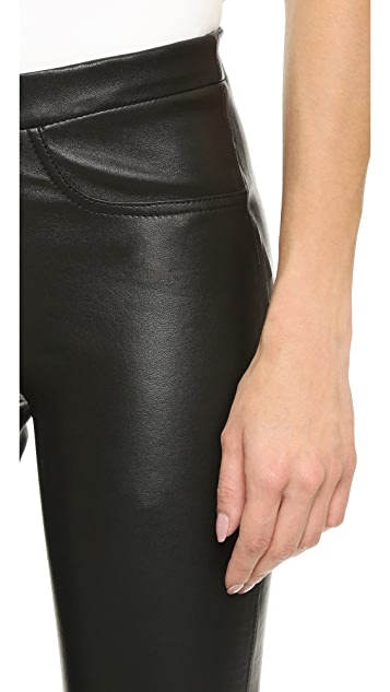 Zadig & Voltaire Pharel Deluxe Leather Leggings