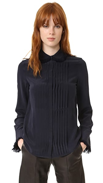 Zadig & Voltaire Tenri Fringed Blouse