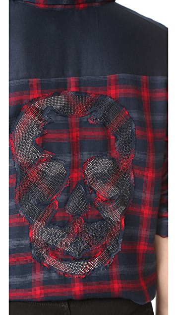 Zadig & Voltaire Tarmi Plaid Shirt