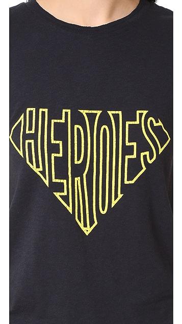 Zadig & Voltaire Skinny Slub Heroes Tee