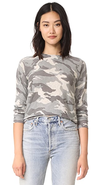 Zadig & Voltaire Camouflage Cashmere Sweater - Neige