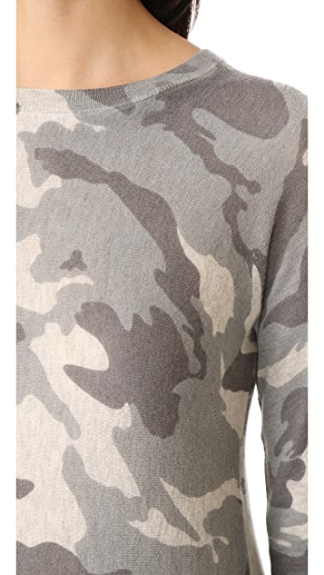 Zadig & Voltaire Camouflage Cashmere Sweater