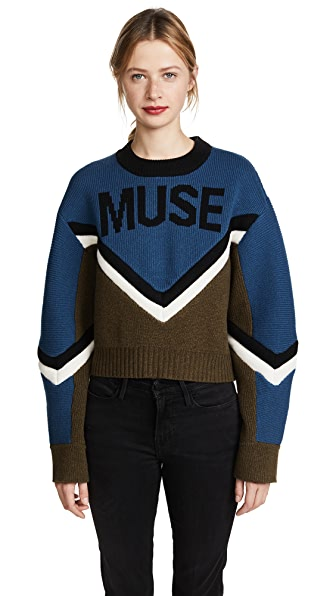 Zadig & Voltaire Muse Runway Pullover In Laguna