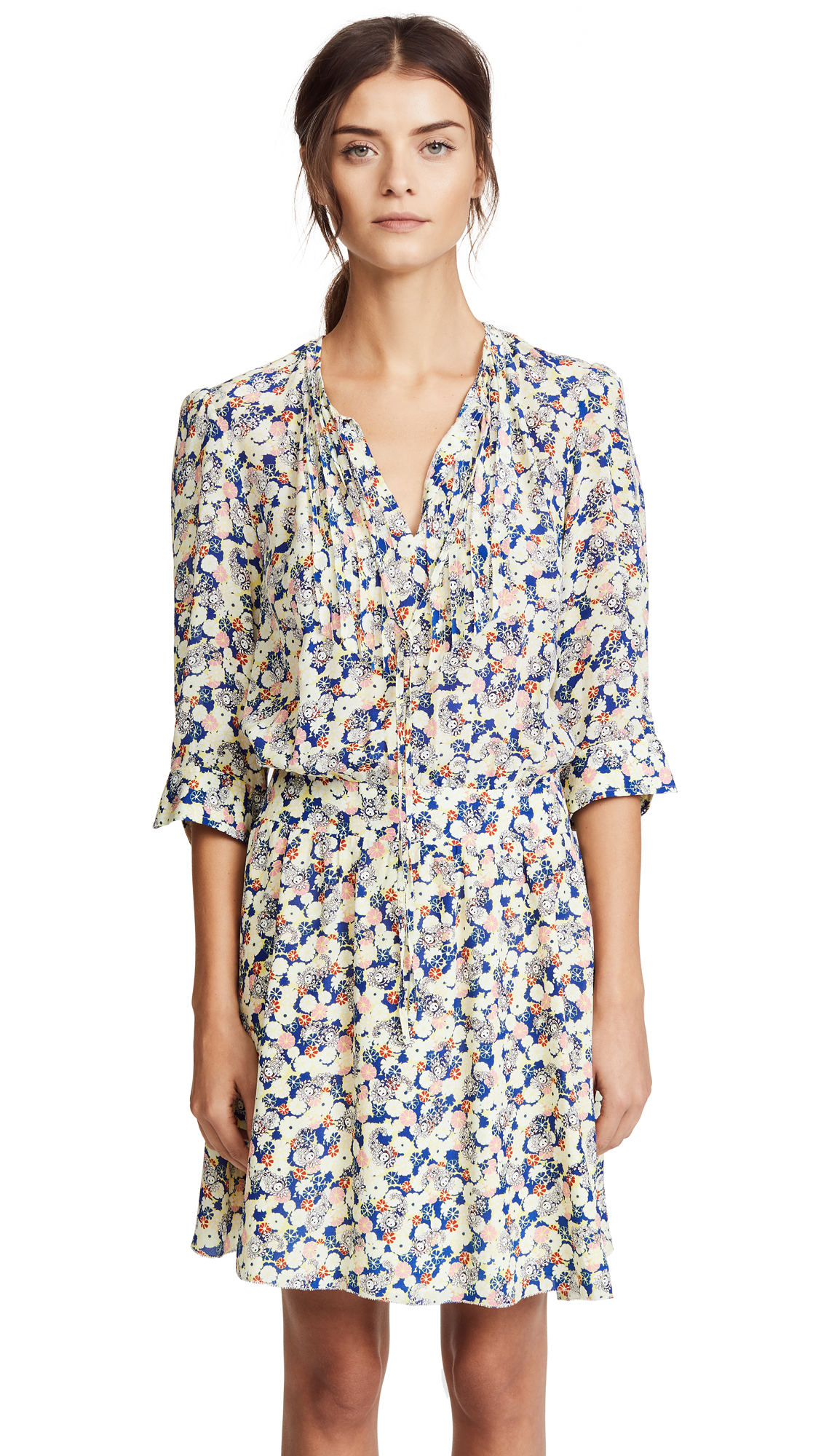 Shopbop Remus Zadig Flower Dress amp; Voltaire 1qpxwPRp