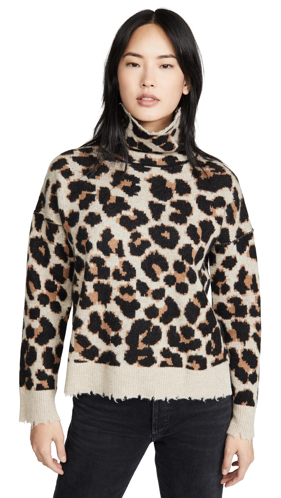 Buy Zadig & Voltaire online - photo of Zadig & Voltaire Gillian C Leo Cashmere Sweater