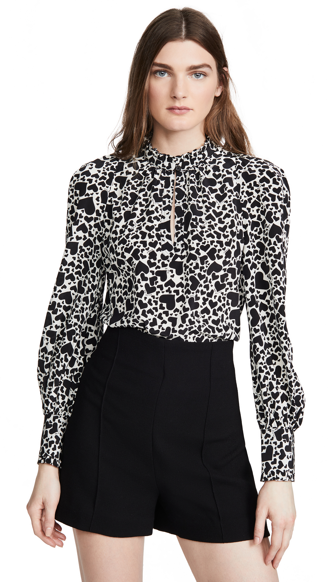 Buy Zadig & Voltaire online - photo of Zadig & Voltaire Titus Print Coe Blouse