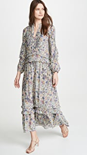 Zadig & Voltaire Realize Print Mandala Long Dress