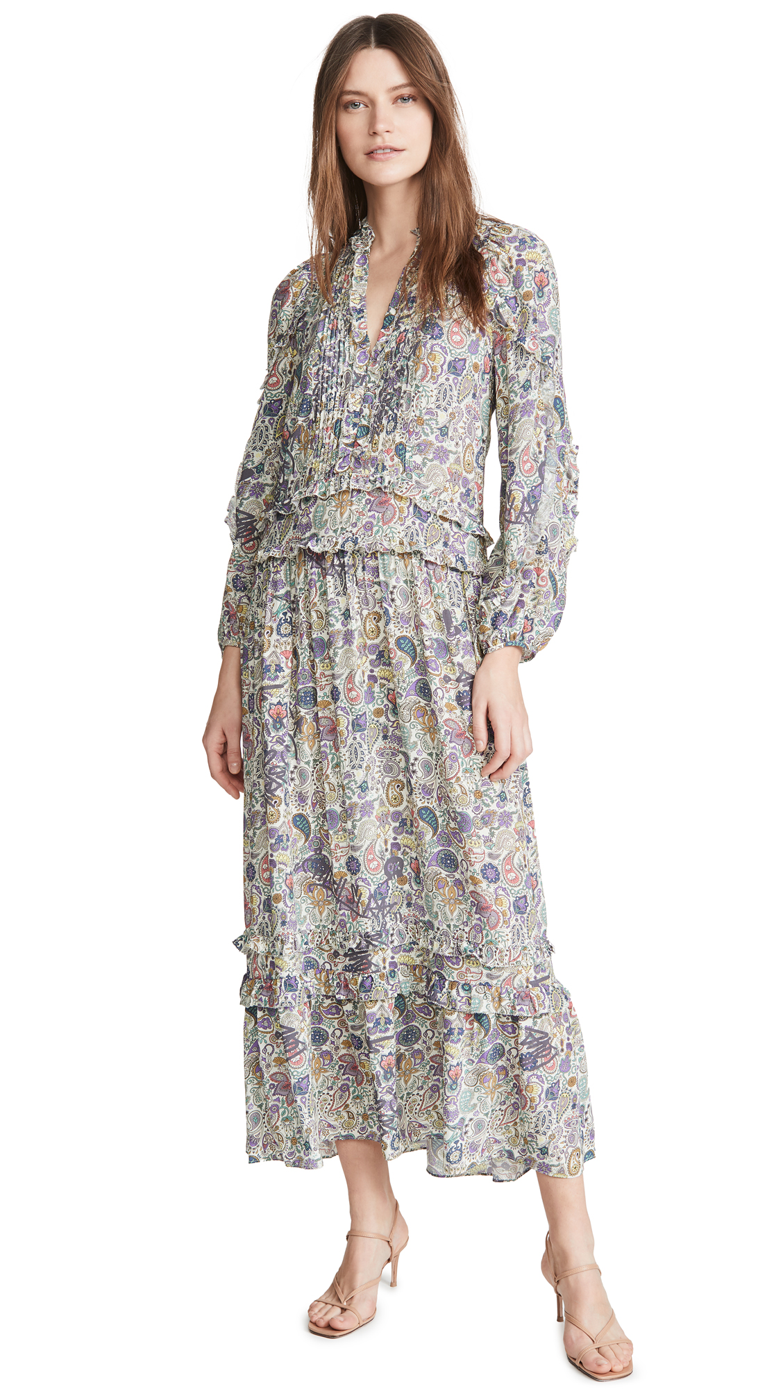 Buy Zadig & Voltaire Realize Print Mandala Long Dress online beautiful Zadig & Voltaire Clothing, Dresses