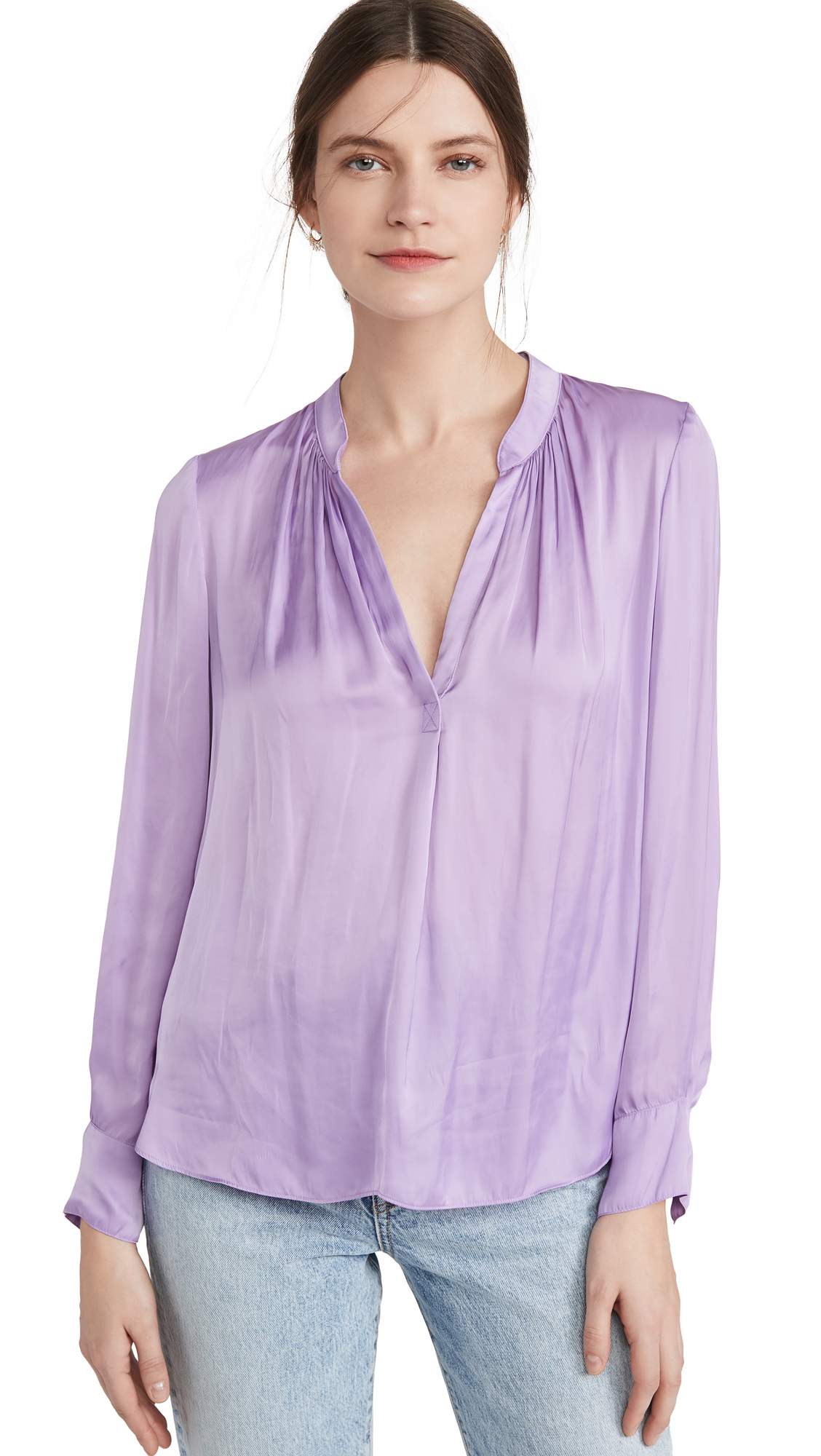 Zadig & Voltaire Tink Satin Tunic - 30% Off Sale