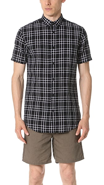 Zanerobe Linen Short Sleeve Shirt