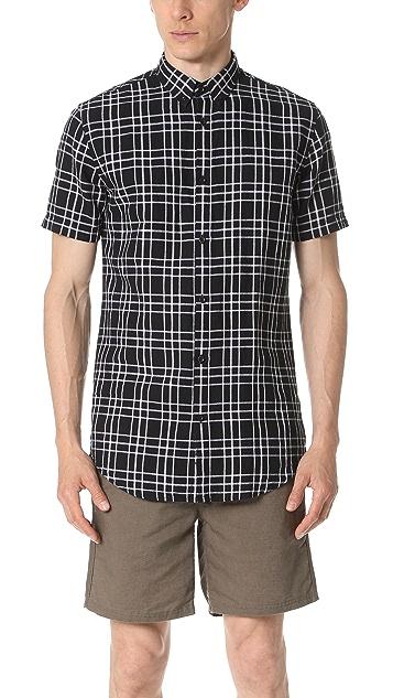 Zanerobe Linen Short Sleeve Shirt