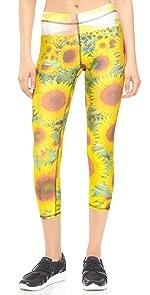 Sunflower Performance Capri Leggings                Zara Terez