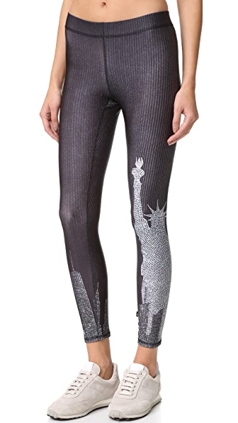 Terez Crystal Skyline Performance Leggings