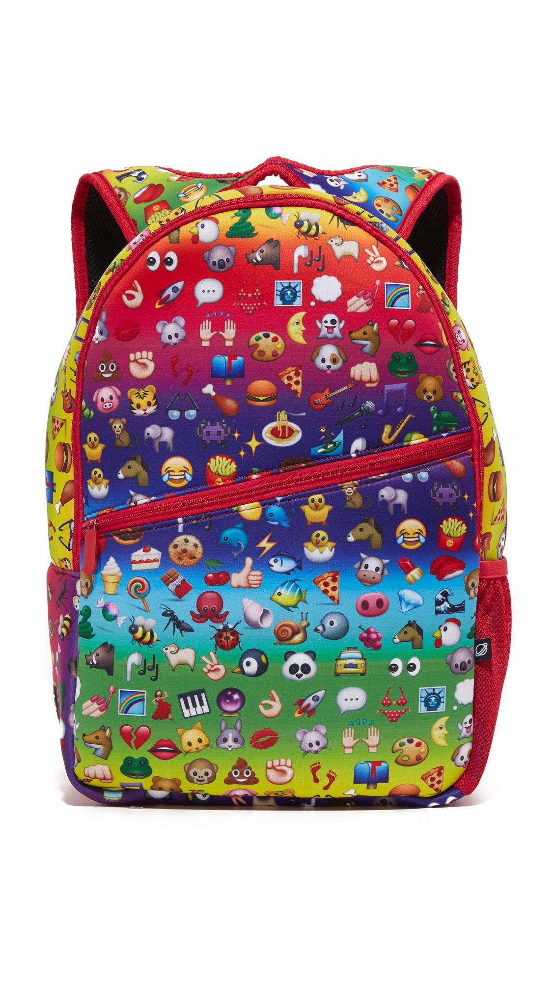 terez female terez backpack rainbow emoji