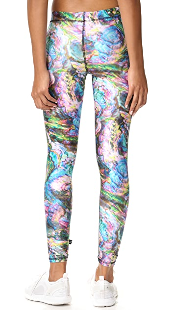 Terez Oyster Performance Leggings