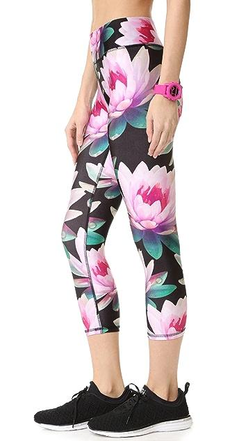 Terez Loving Lotus Wide Band Leggings