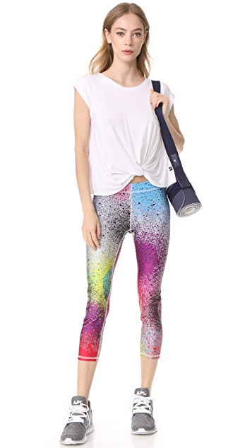 Terez Spray Paint Performance Leggings