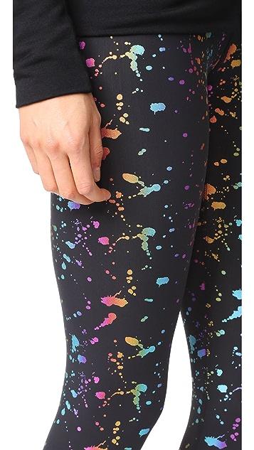 Terez Rainbow Splatter Foil