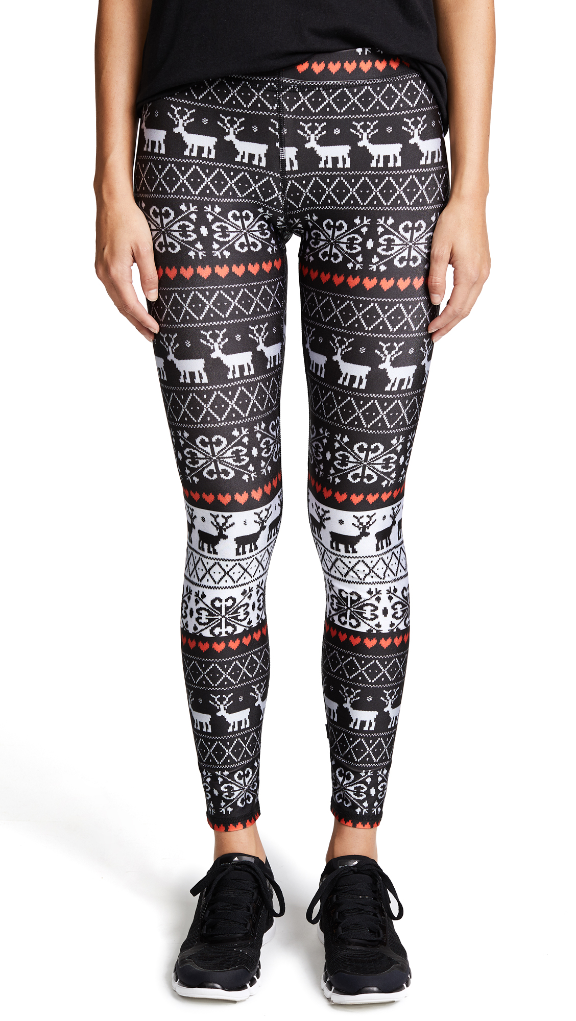 Terez Holiday Party Performance Leggings
