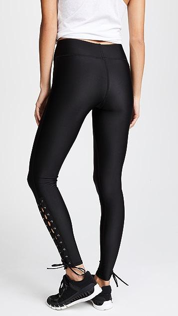 Terez Lace Up Leggings