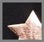 Rose Gold Big Star Foil/Black