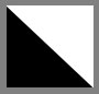 Black Big Star Foil/White Rayo