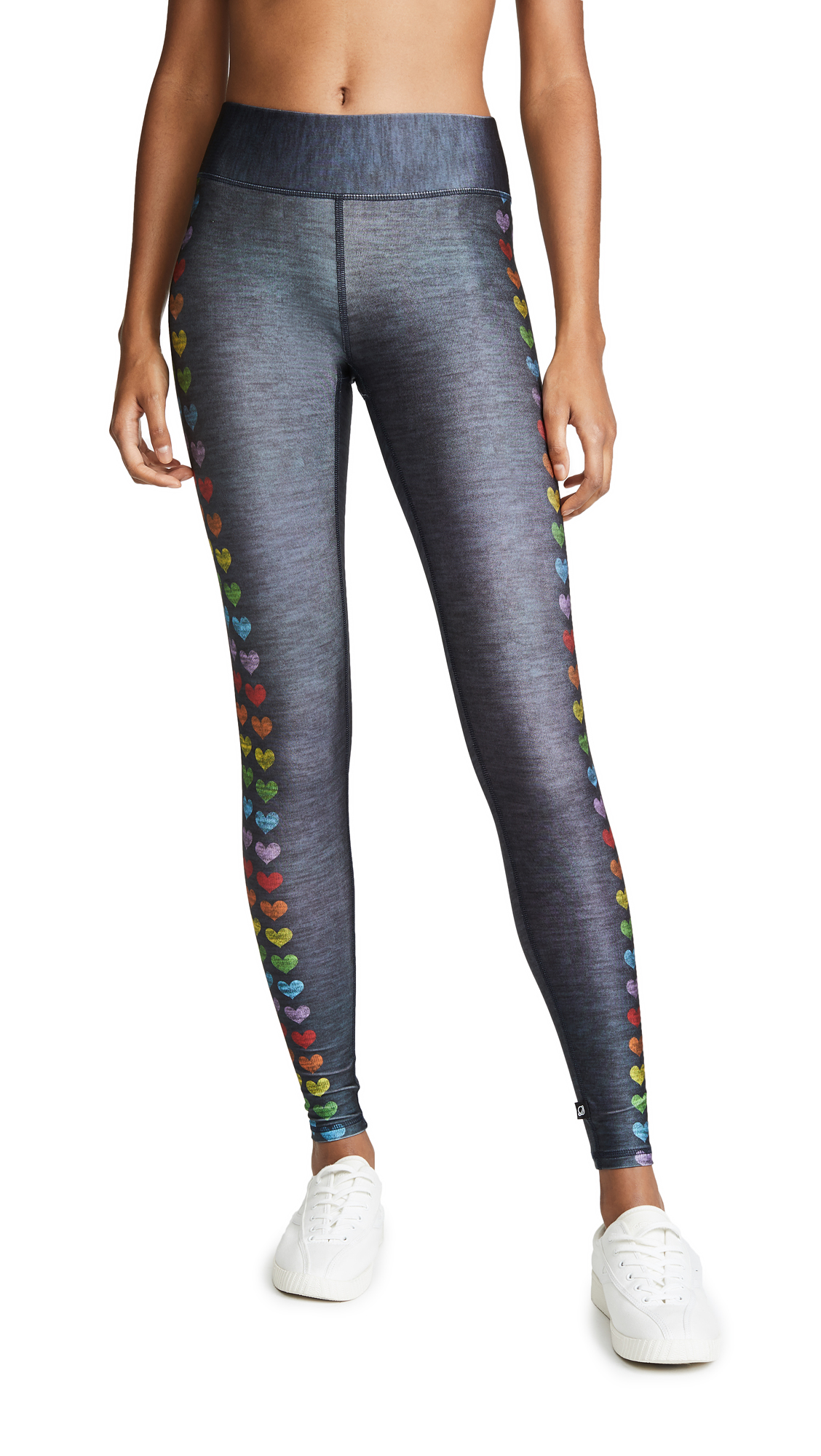 Terez Love is Love Tall Band Leggings In Love Is Love