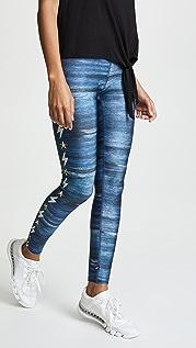 Terez Lightning Stripe Leggings