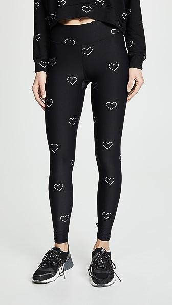Terez Pants FOIL TALL BAND LEGGINGS
