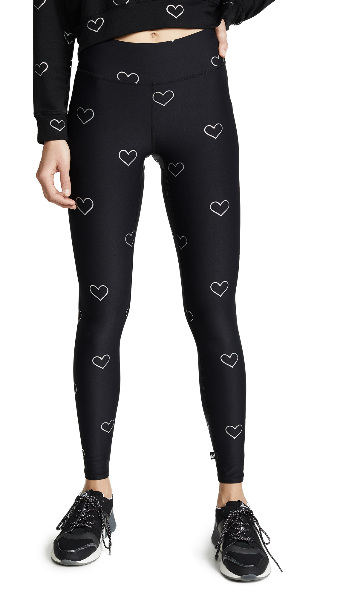 Terez Foil Tall Band Leggings