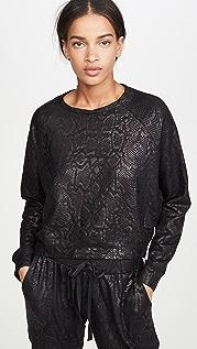 Terez Foil Crew Neck Sweatshirt