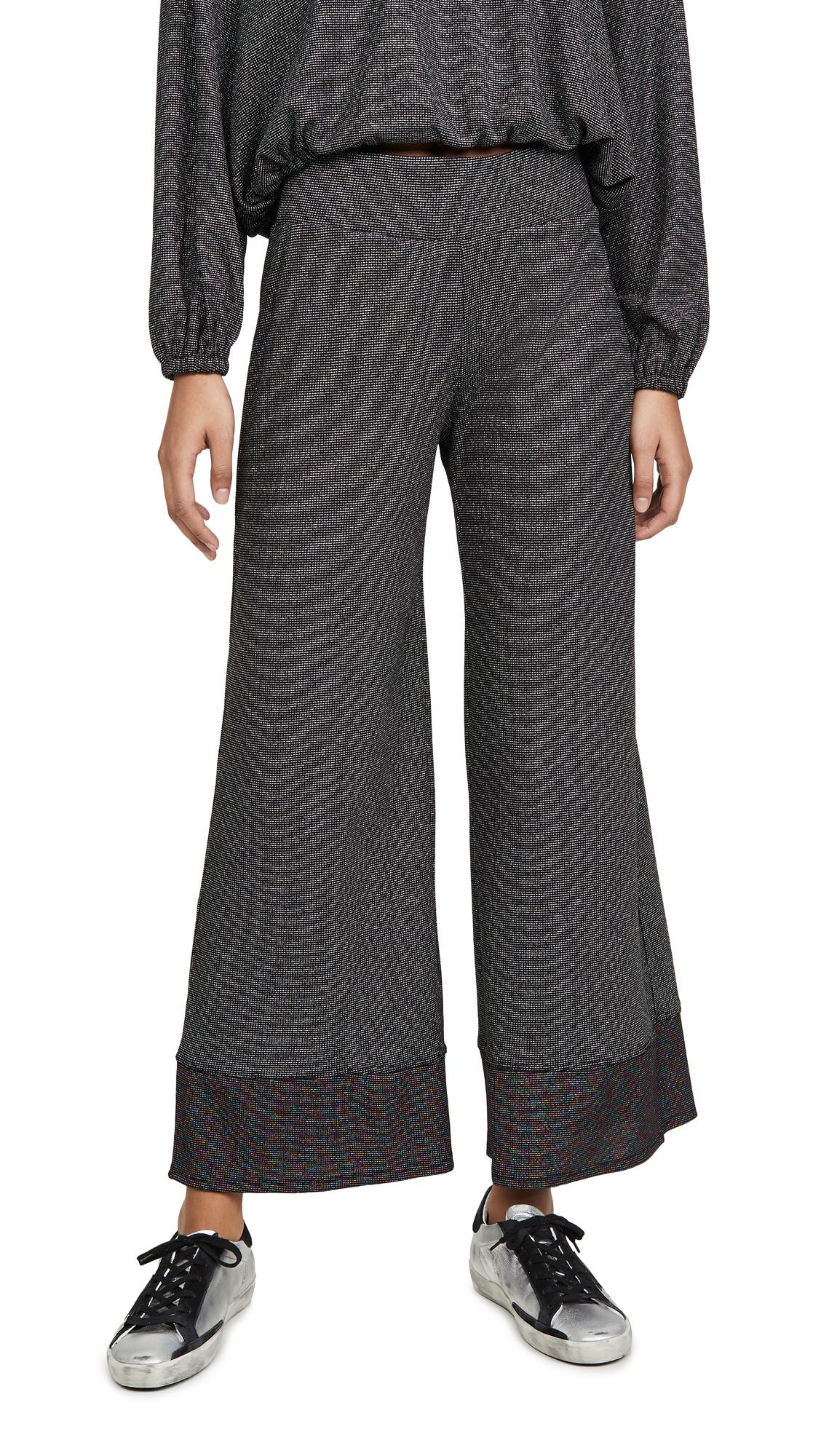 Buy Terez online - photo of Terez Colorblock Shimmer Knit Pants