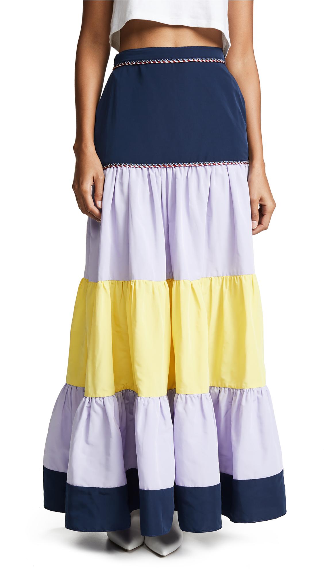 ZAYAN THE LABEL Rosie Skirt in Multicolor