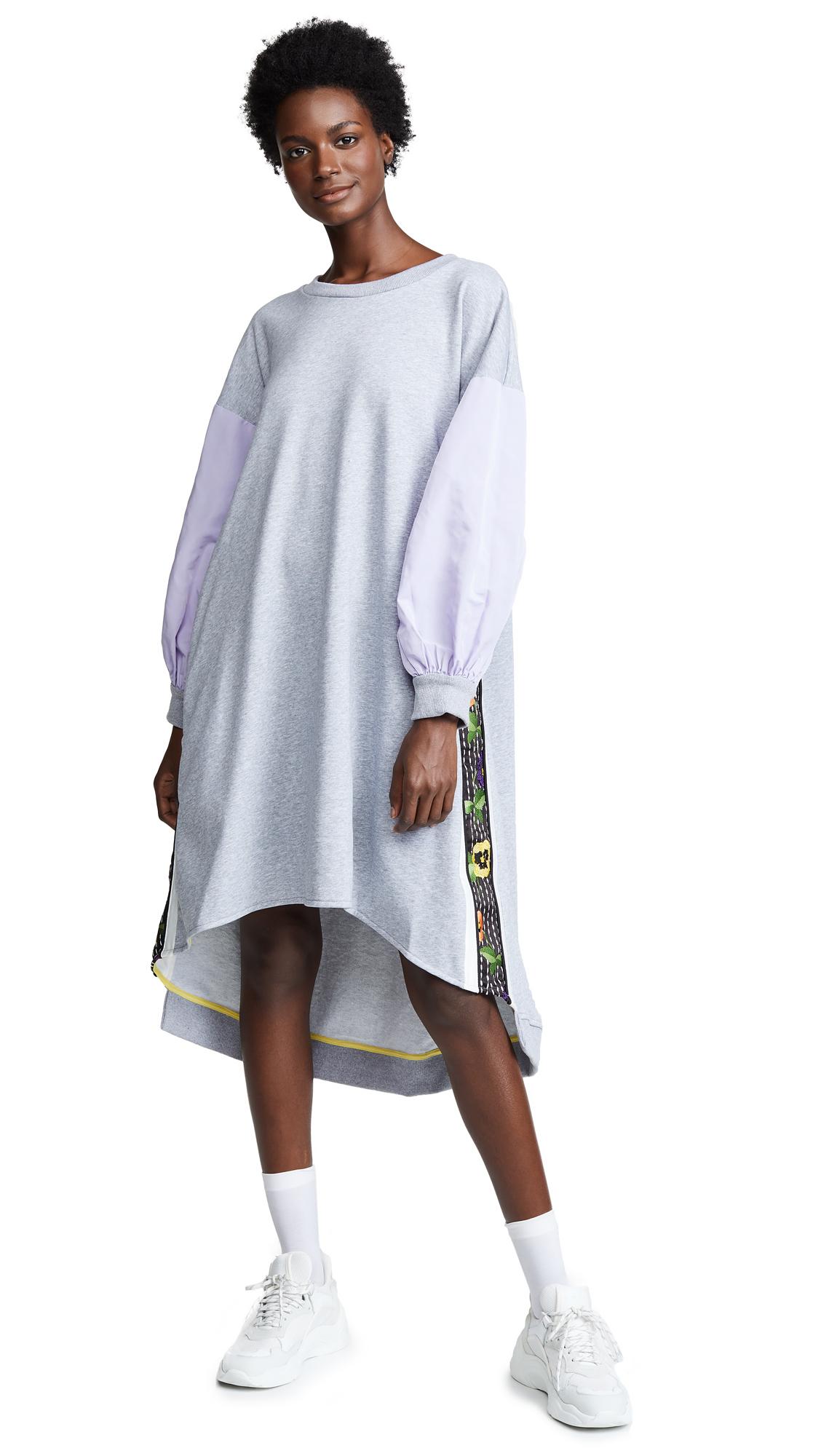 ZAYAN THE LABEL Dai Dress in Grey