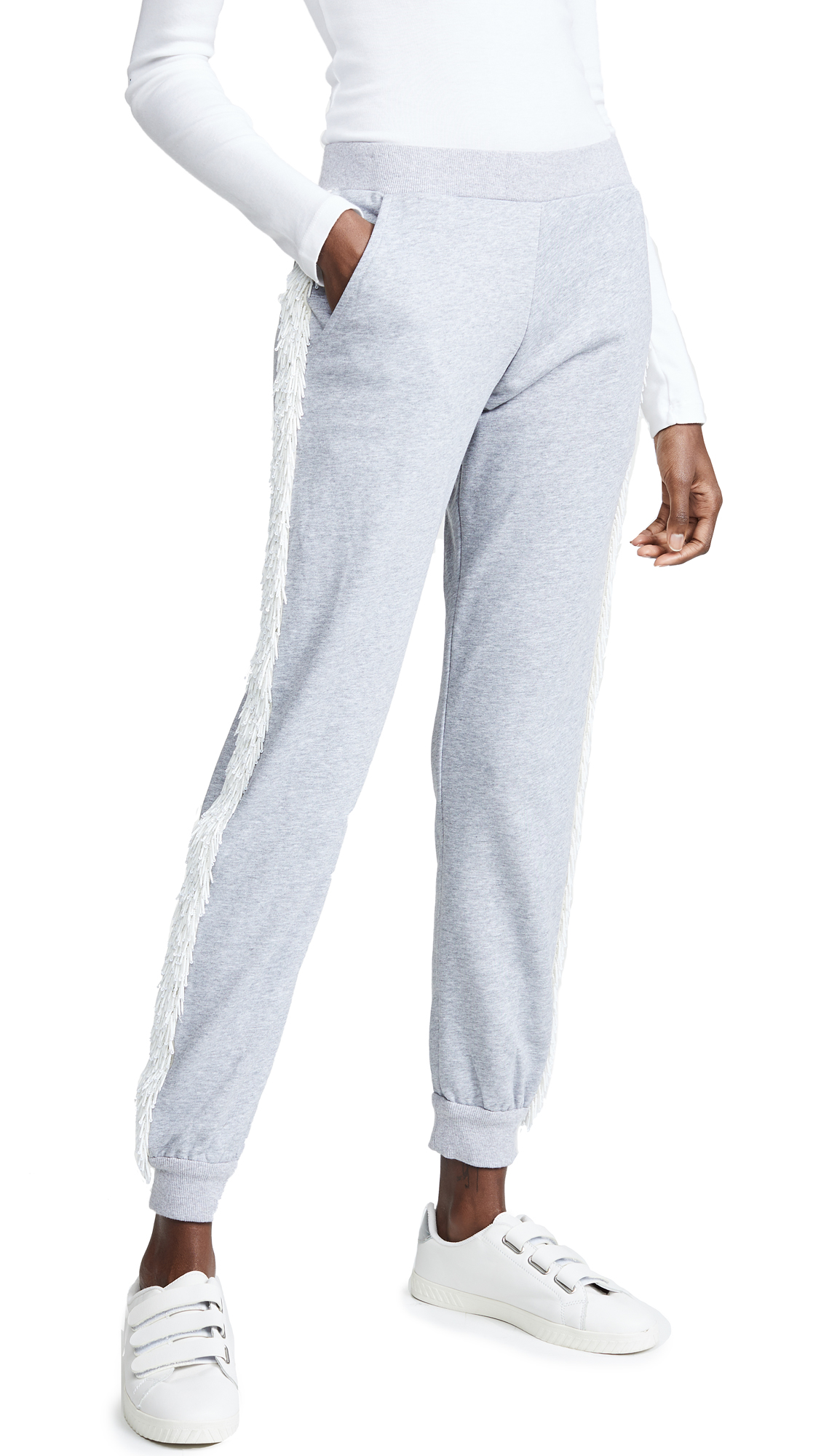 ZAYAN THE LABEL Lexi Joggers in Grey