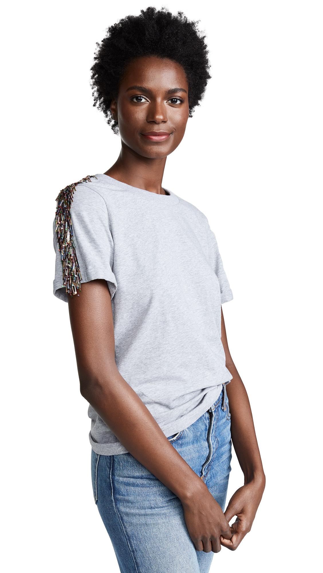 ZAYAN THE LABEL Blake T-Shirt in Grey