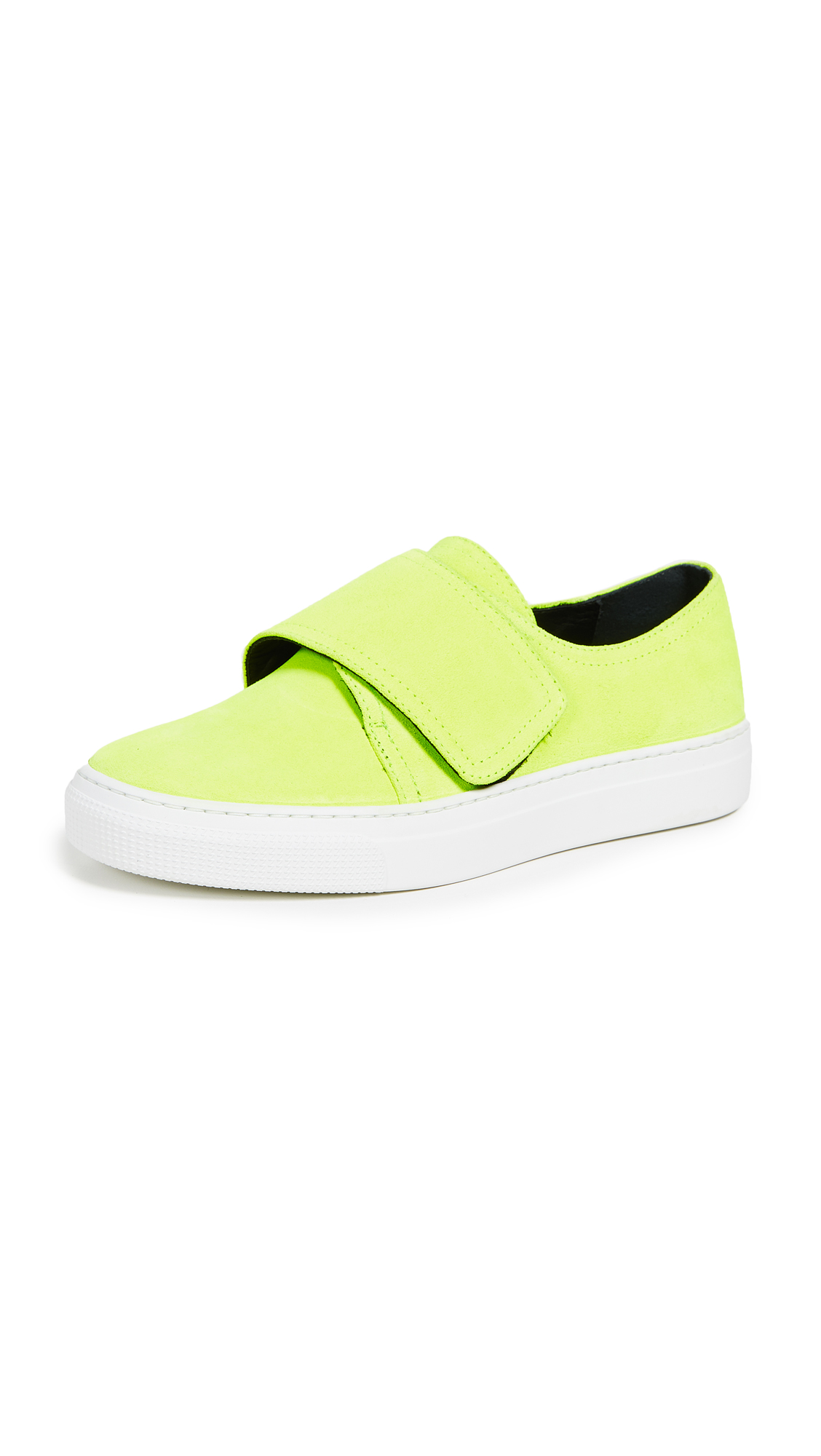 ZCD MONTREAL Senna Sneakers in Giallo Neon