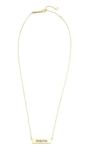 Zoe Chicco 14k Gold Mama Necklace