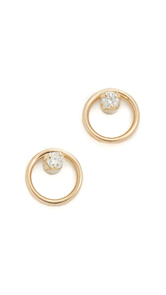 Zoe Chicco Paris Stud Earrings