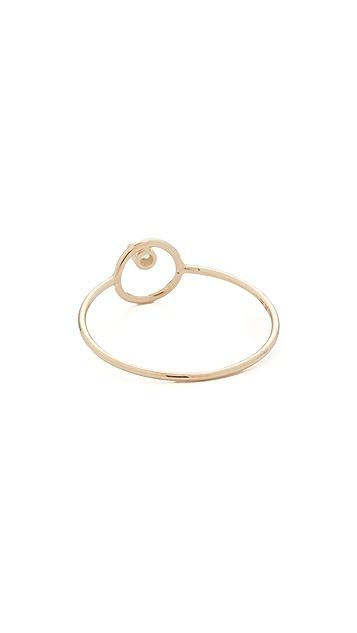 Zoe Chicco 14k Gold Paris Circle Stacking Ring