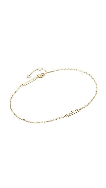 Zoe Chicco 14k Gold Babe Bracelet
