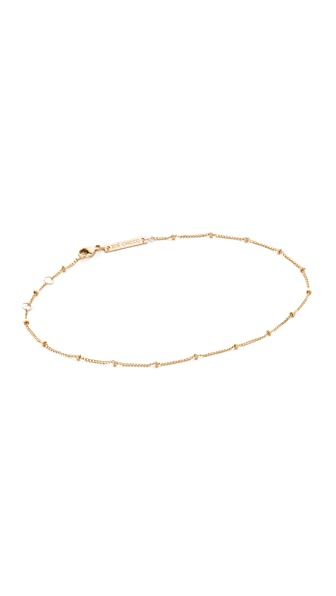 Zoe Chicco Gold Anklet at Shopbop