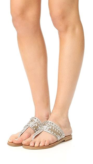 Zoe Chicco 14k Gold Dangling Diamonds Anklet