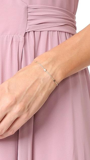 Zoe Chicco 14k Gold Heart Chain Bracelet